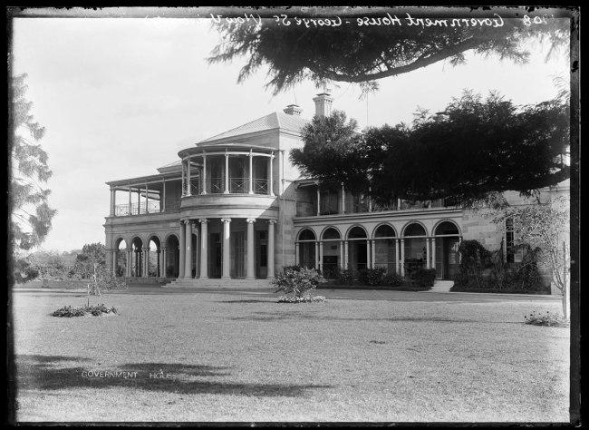 Alfred Elliott. 'Government House, George Street' 1908