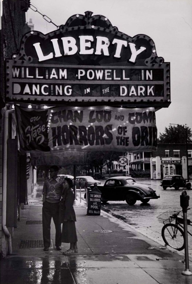 Gordon Parks. 'Untitled (Outside the Liberty Theater)' 1950