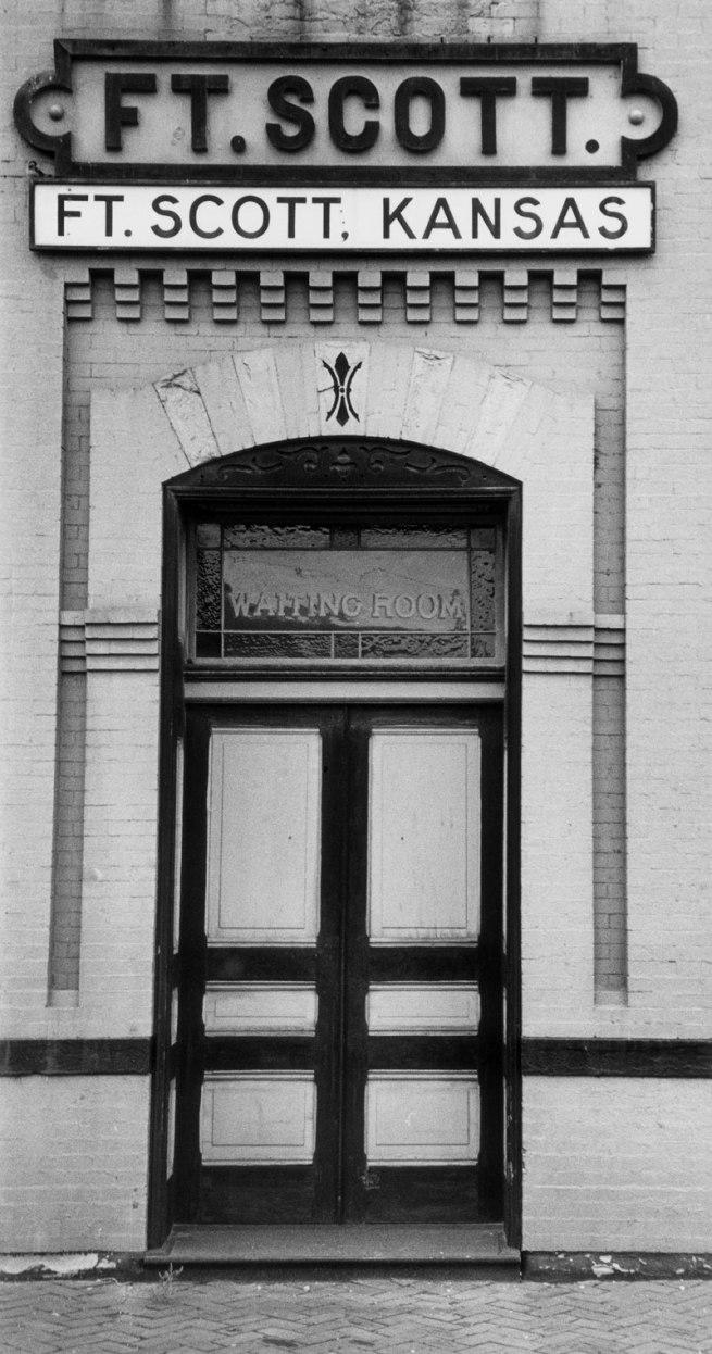 Gordon Parks. 'Railway Station Entrance, Fort Scott, Kansas' 1950