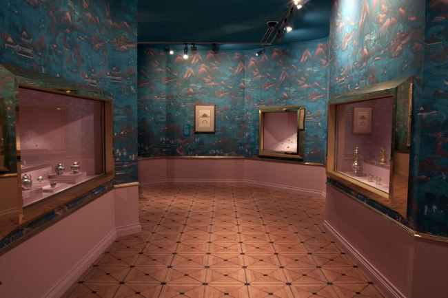Installation view of room 8 of the exhibition 'Masterpieces from the Hermitage: The Legacy of Catherine the Great' at NGV International, Melbourne