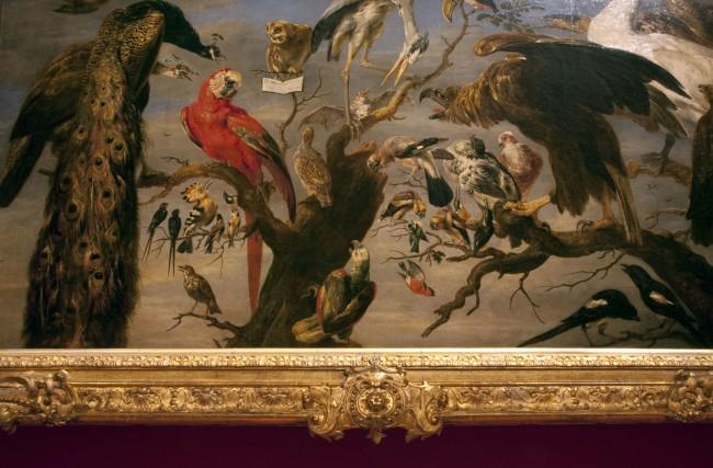 Frans Snyders (Flemish 1579-1657) 'Concert of birds' 1630-40 (detail)