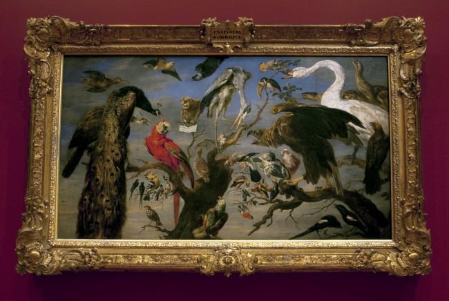 Frans Snyders (Flemish 1579-1657) 'Concert of birds' 1630-40