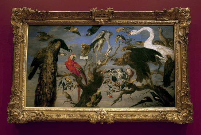 Frans Snyders (Flemish 1579-1657) 'Concert of birds' 1630-40