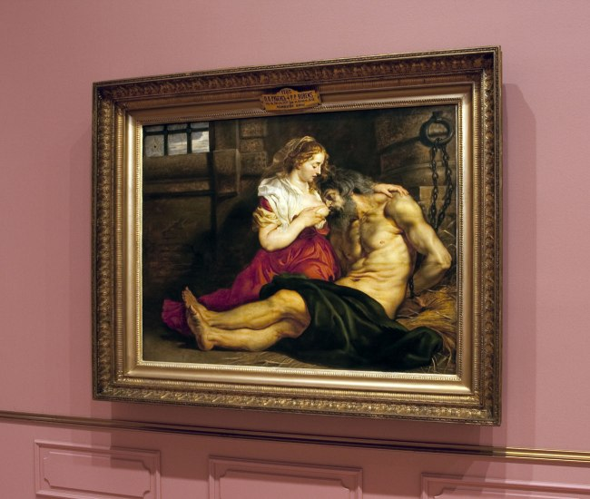 Peter Paul Rubens (Flemish 1577–1640) 'Roman Charity (Cimon and Pero)' c. 1612