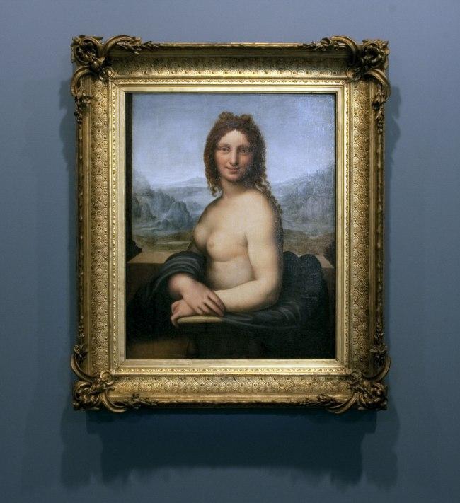 Leonardo da Vinci (school of) 'Female nude (Donna Nuda)' Early 16th century