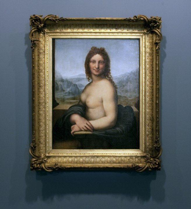 Leonardo da Vinci (school of) 'Female nude (Donna Nuda)' Early 16th century