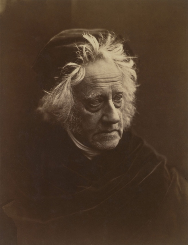 Julia Margaret Cameron. 'Portrait of Herschel' 1867