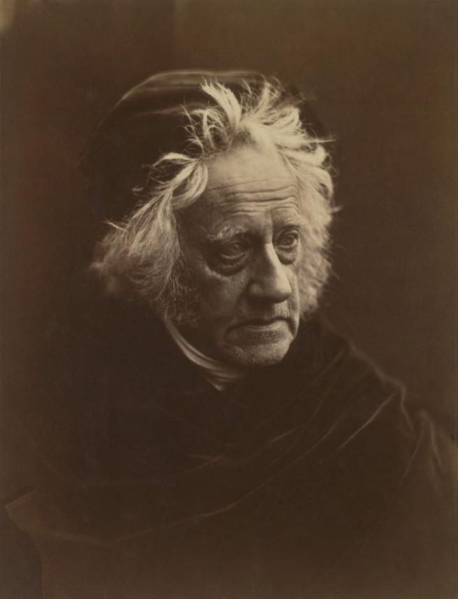 Julia Margaret Cameron. 'Portrait of Herschel' 1867