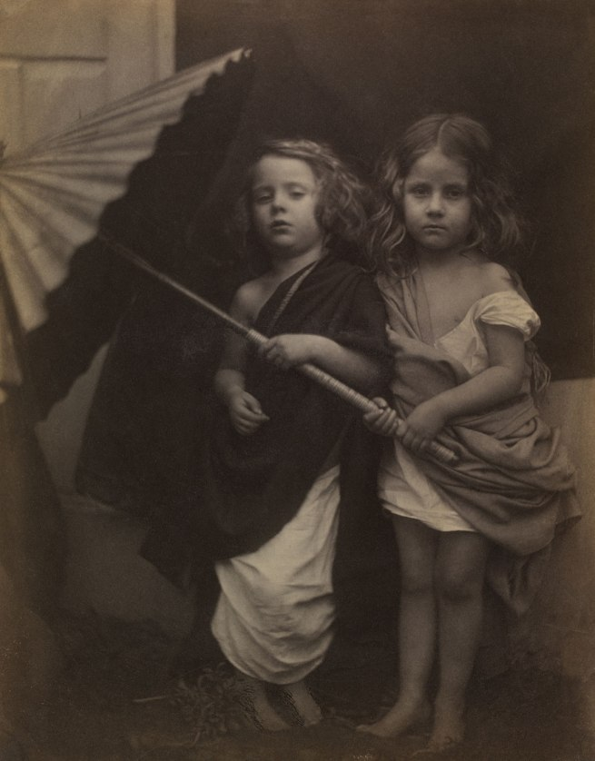 Julia Margaret Cameron. 'Paul and Virginia' 1864