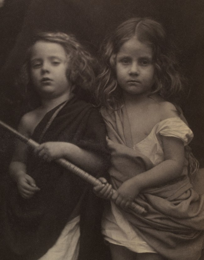 Julia Margaret Cameron. 'Paul and Virginia' (detail) 1864
