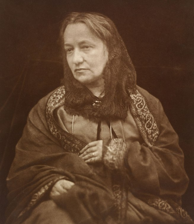 Julia Margaret Cameron. 'Portrait of Julia Margaret Cameron by her son' about 1870