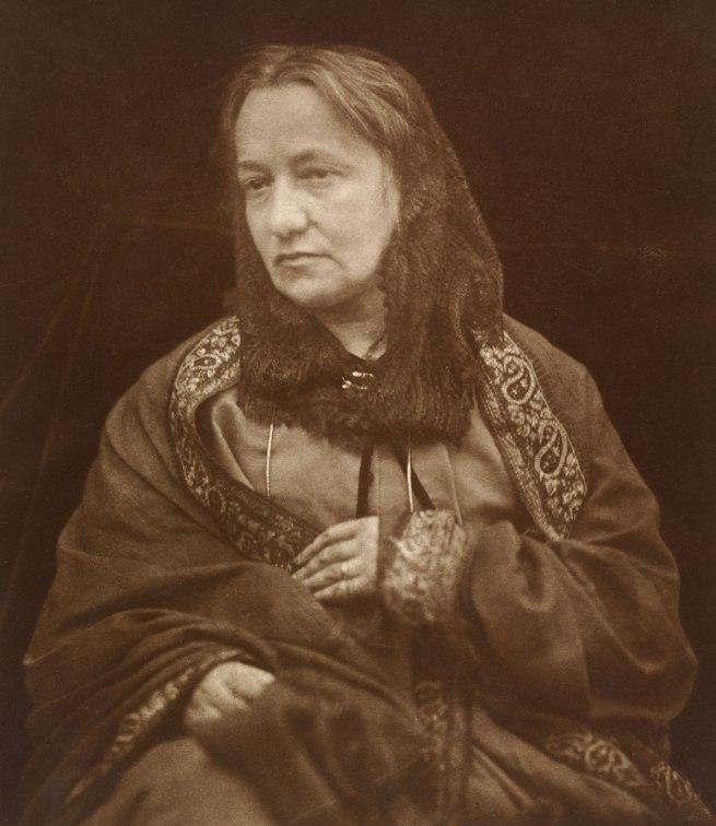 Julia Margaret Cameron. 'Portrait of Julia Margaret Cameron by her son' about 1870