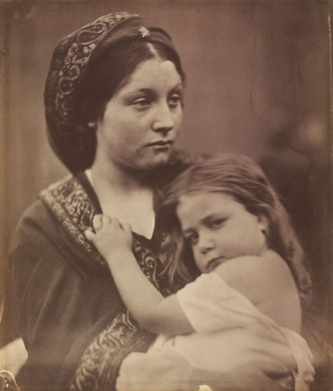 Julia Margaret Cameron. 'Kept in the Heart/La Madonna della Ricordanza' 1864