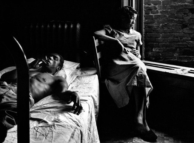 Gordon Parks. 'Tenement Dwellers, Chicago, Illinois' 1950
