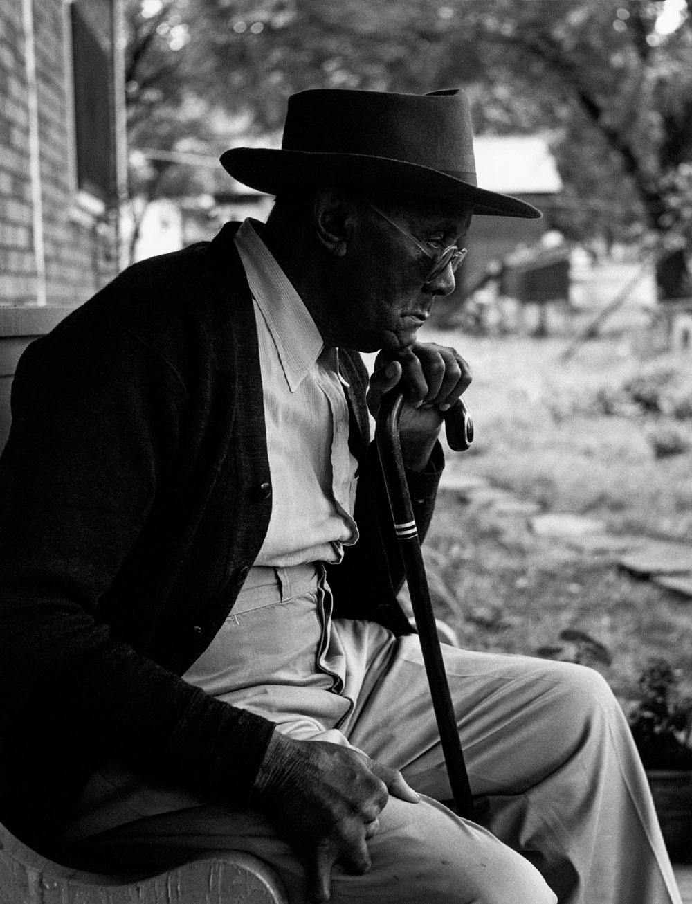Gordon Parks Uncle James Fort Scott Kansas 1950
