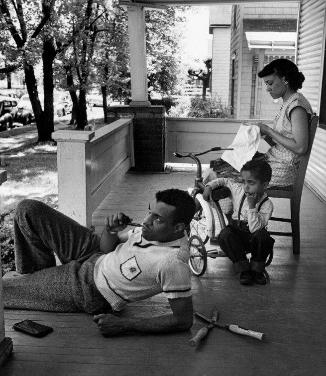 Gordon Parks. 'Untitled, Columbus, Ohio' 1950