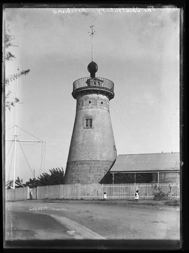 Alfred Elliott. 'Windmill, Wickham Terrace' 1895