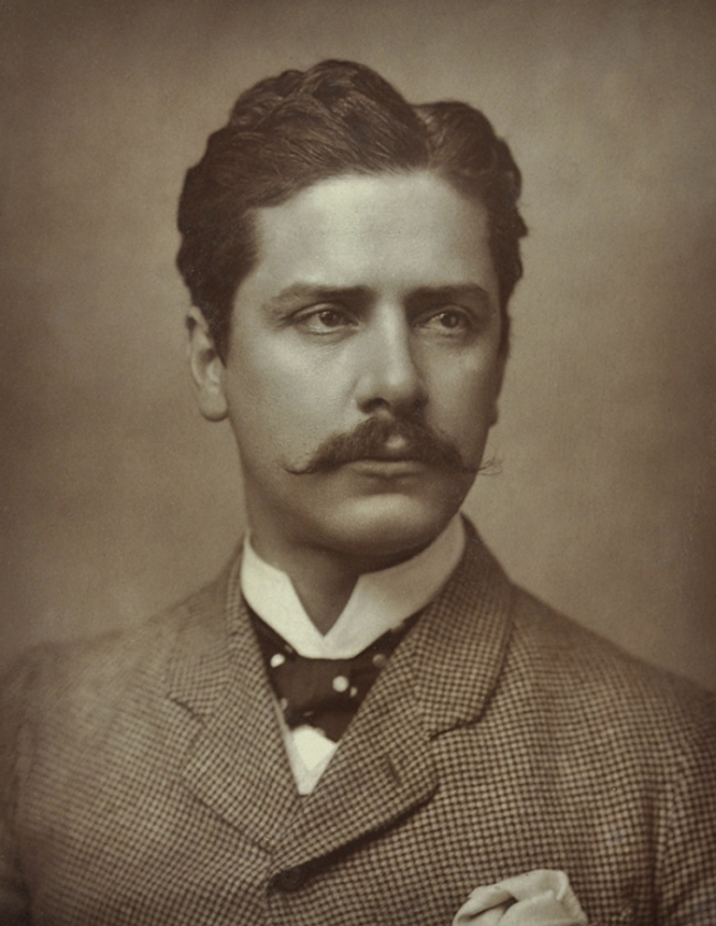 Anonymous photographer. 'Portrait of actor William Terriss' late 19th century