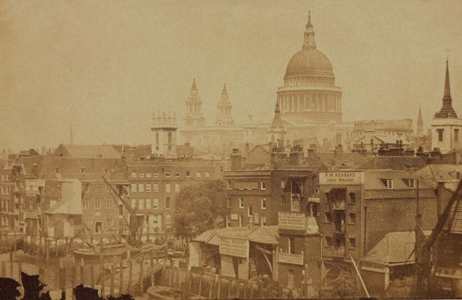 Anonymous photographer. 'St Paul's Cathedral' c. 1855
