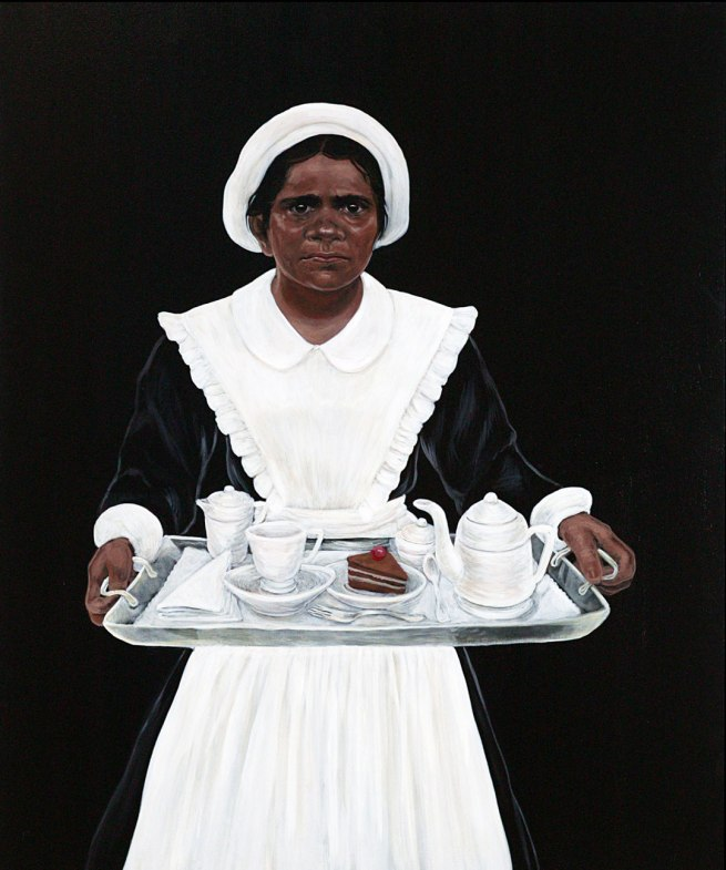 Julie Dowling (b. Australia 1969) Badimaya people, Western Australia 'White with one' 2003