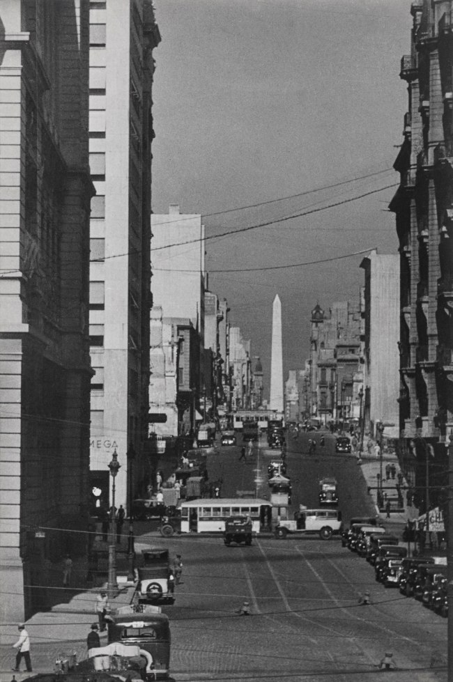 Horacio Coppola (Argentine, 1906–2012) 'Avenida Corrientes towards the West' 1936