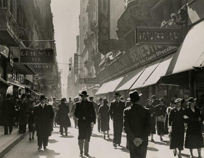 Horacio Coppola (Argentine, 1906–2012) 'Calle Florida' 1936
