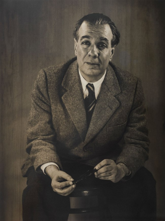 Grete Stern (Argentine, born Germany. 1904–1999) 'Jorge Luis Borges' 1951