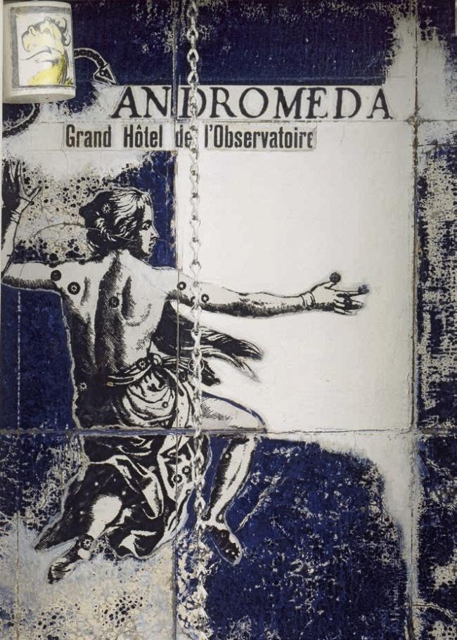Joseph Cornell. 'Andromeda: Grand Hôtel de l'Observatoire' 1954 (detail)