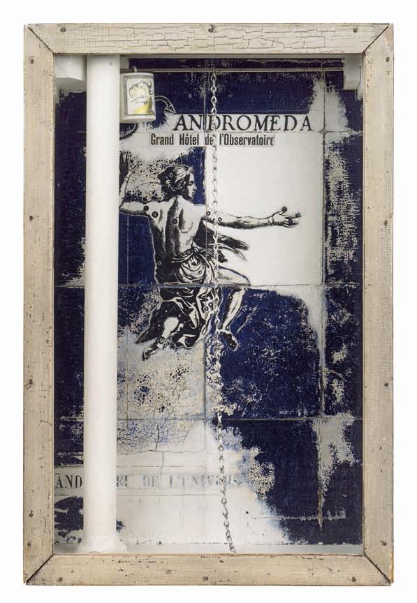 Joseph Cornell. 'Andromeda: Grand Hôtel de l'Observatoire' 1954