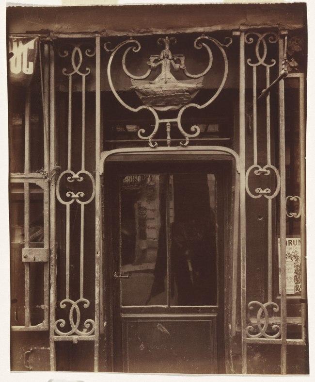 Eugène Atget (France 1857-1927) 'A la Grâce de Dieu, 121 rue Montmartre' c. 1900