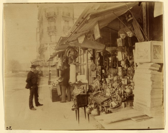 Eugène Atget. 'No title (Brocanteur)' c.1898-1905