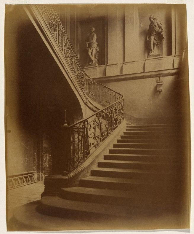 Eugène Atget. 'Hôtel du Maréchal de Tallard, 78 rue des Archives' c. 1898-1905