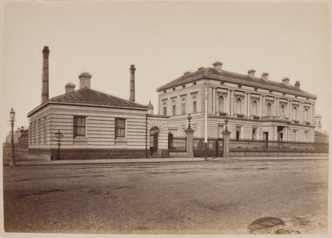 Nicholas Caire (born United Kingdom 1837; arrived Australia 1858; died 1918) 'The Royal Mint, Melbourne' 1877-78