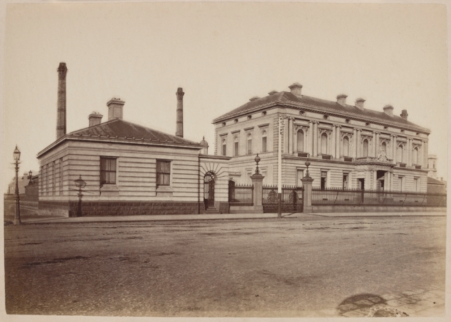 Nicholas Caire (born United Kingdom 1837; arrived Australia 1858; died 1918) 'The Royal Mint, Melbourne' 1877-78