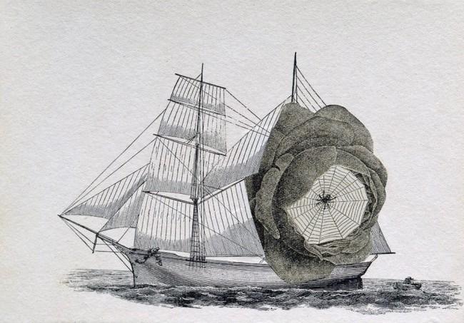 Joseph Cornell. 'Untitled (Schooner)' 1931