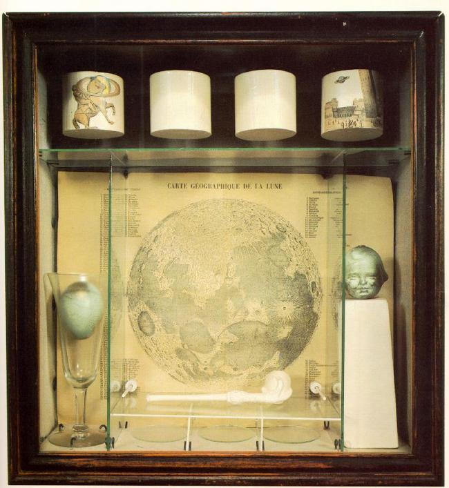 Joseph Cornell. 'Object (Soap Bubble Set)' 1936