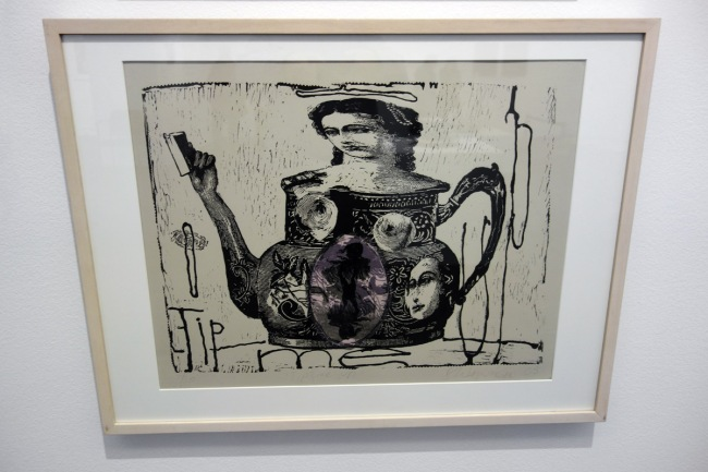 Heather Shimmen (b. Australia 1957) 'Tip me up' 2005