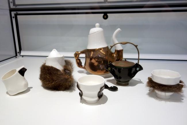 Trent Jansen (b. Australia 1981) 'Briggs family tea service' 2011