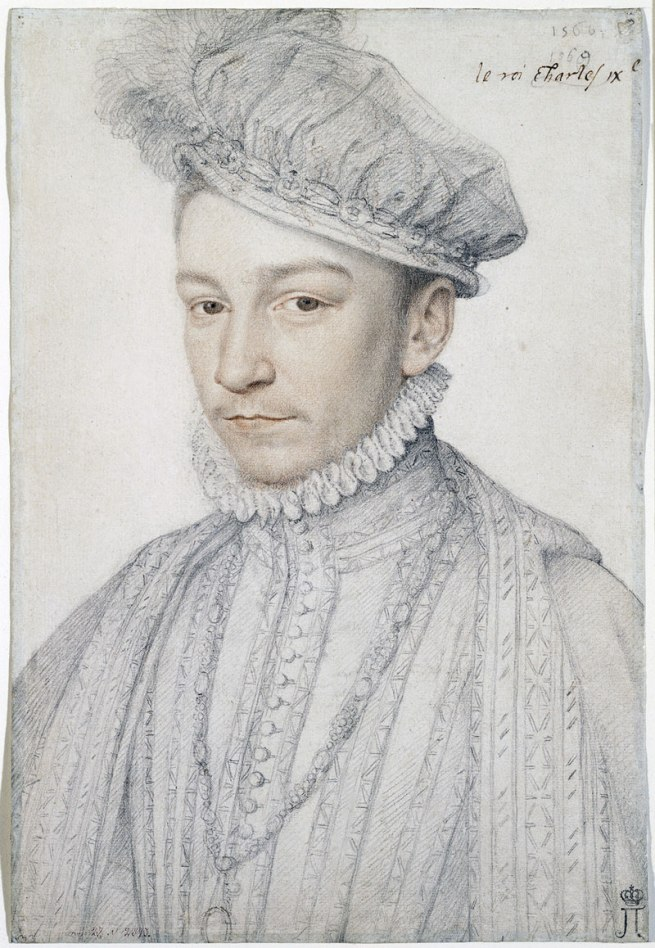 Francois CLOUET (French (c. 1516)–1572) 'Portrait of Charles IX' 1566