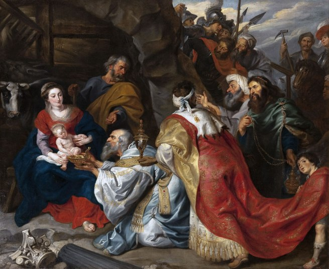 Peter Paul Rubens and workshop (Flemish 1577–1640) The Adoration of the Magi c. 1620 Oil on canvas 235.0 х 277.5 cm The State Hermitage Museum, St Petersburg (Inv. № ГЭ-494) Acquired from the collection of Dufresne, Amsterdam, 1770