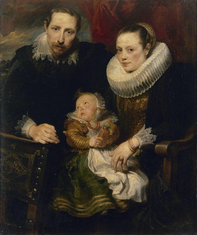 Anthony van Dyck (Flemish 1599–1641) 'Family portrait' c. 1619