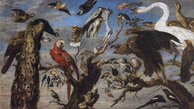 Frans Snyders (Flemish 1579–1657) 'Concert of birds' 1630–40