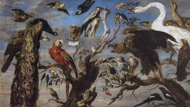 Frans Snyders (Flemish 1579–1657) 'Concert of birds' 1630–40