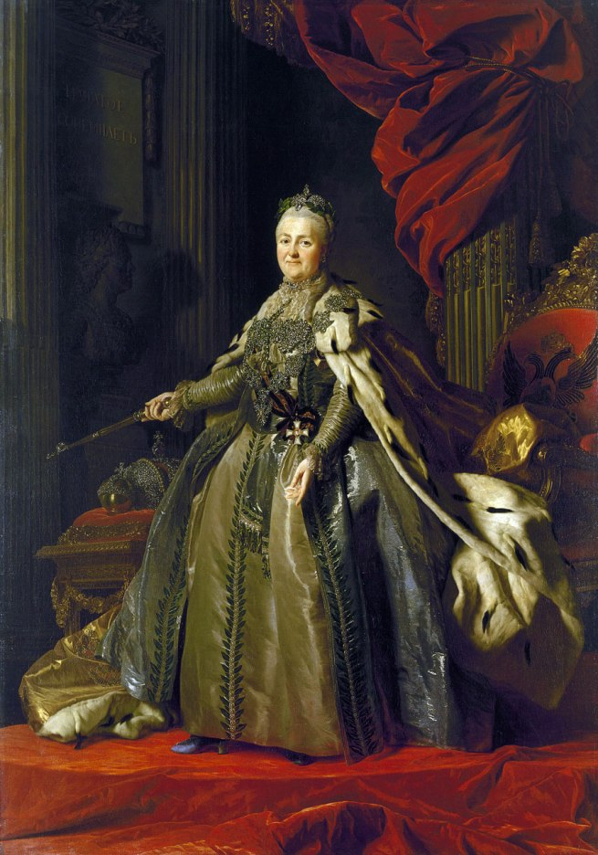 Alexander Roslin (Swedish 1718–93) 'Portrait of Catherine II' 1776–77