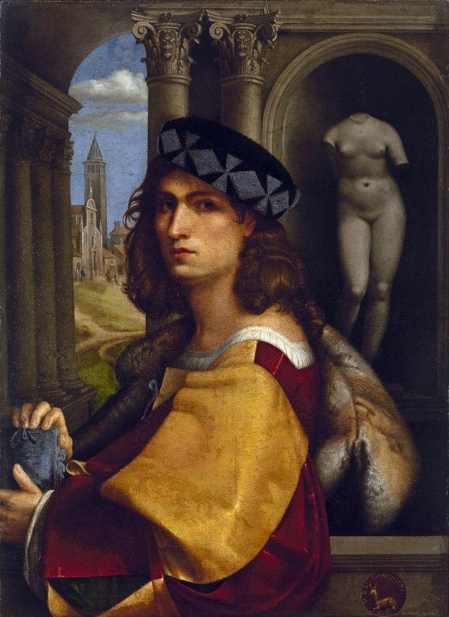 Domenico Capriolo (Italian (c. 1494)–1528) 'Portrait of a young man' 1512