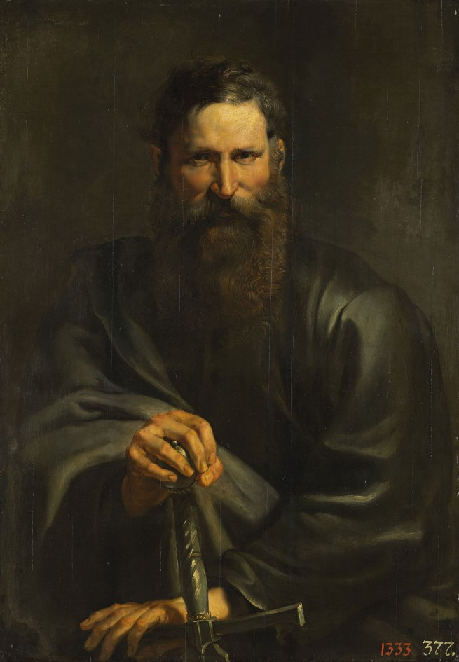 Peter Paul Rubens and workshop (Flemish 1577–1640) 'The Apostle Paul' c. 1615