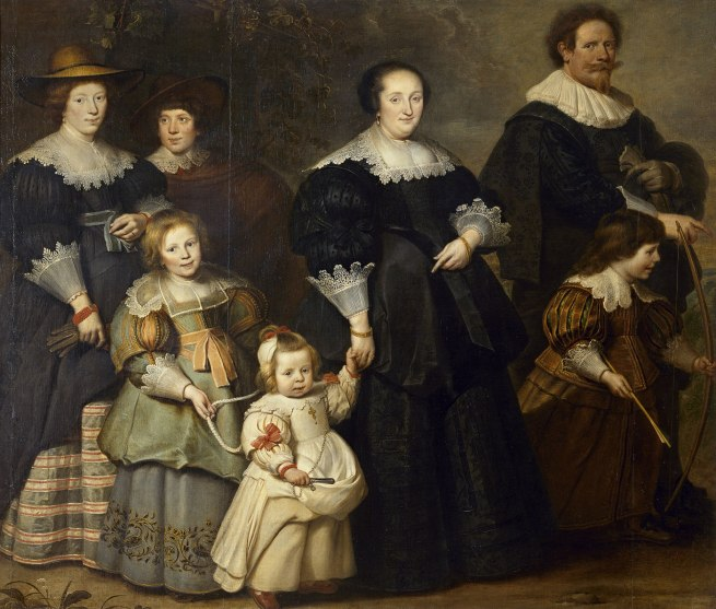 Cornelis de Vos (Dutch/Flemish (c. 1584)–1651) 'Self-portrait of the artist with his wife Suzanne Cock and their children' c. 1634
