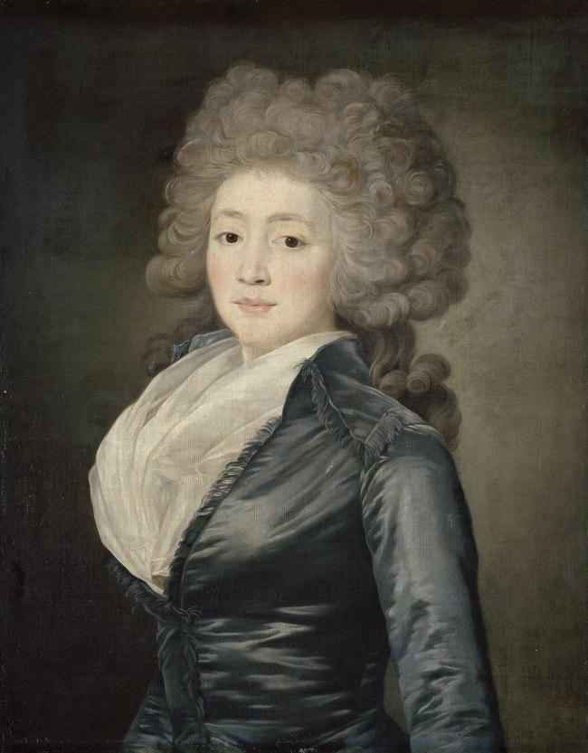 Jean Louis Voille (French 1744–1804) 'Portrait of Olga Zherebtsova' 1790s