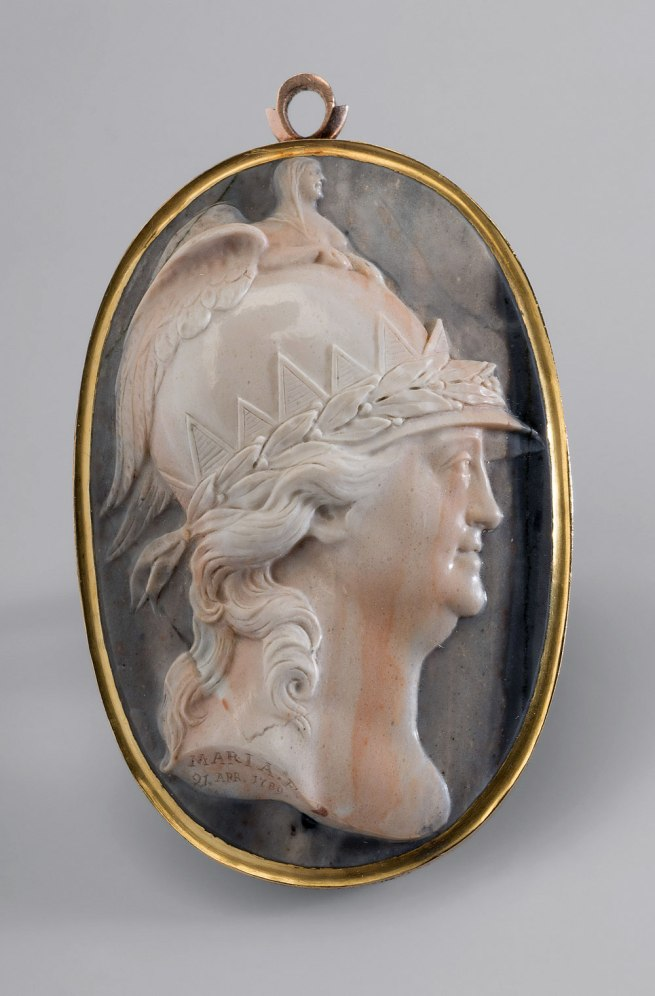 Grand Duchess Maria Fyodorovna (engraver) Russia 1795–1828 Russia (manufacturer) 'Catherine the Great as Minerva' cameo 1789
