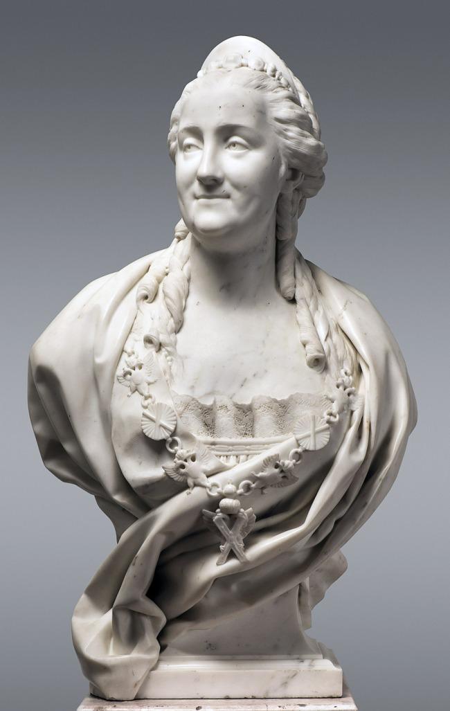 Jean-Antoine Houdon (French 1741–1828) 'Catherine II' 1773